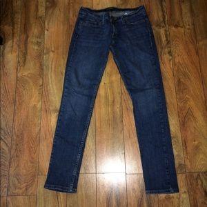 Levi's 524 superlow jeans